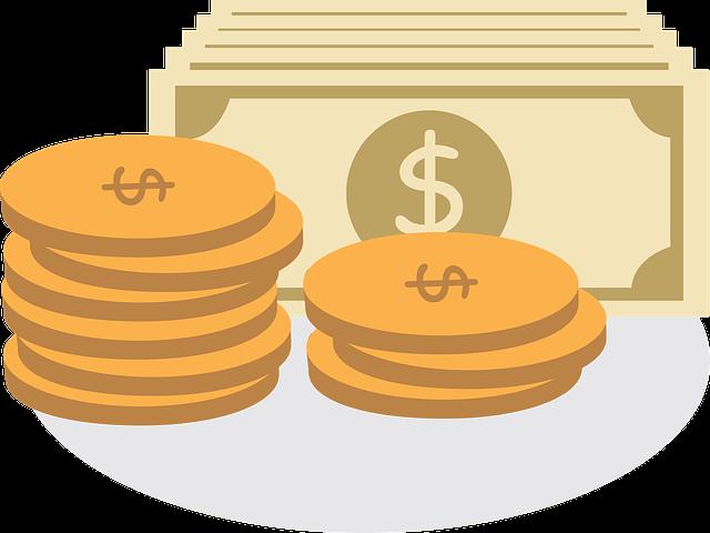 Geld-Gebühren-Kosten