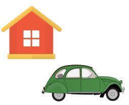 Kreditsicherheit Auto Immobilie