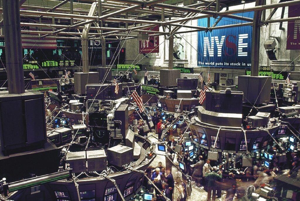 Wertpapierdepot live: Handel auf der Börse in New York. .