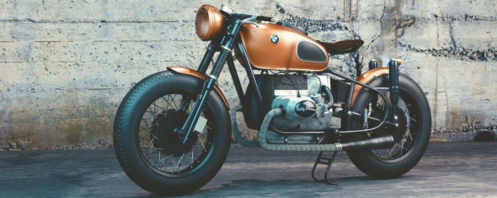 Auch ein Motorrad kann der Bank als Sicherheit dienen. Wenn der Wert hoch ist, kann es auch hoch beliehen werden