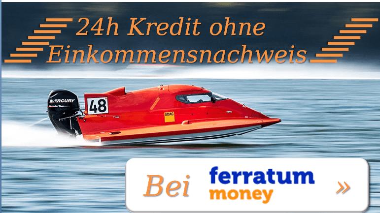 Blitzkredit mit Sofortauszahlung: Der 24h Kredit ohne Einkommensnachweis
