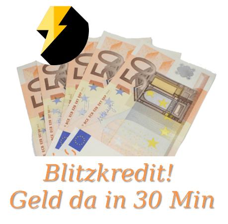 Blitzkredit - Geld da in 30 min