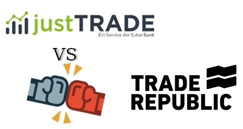 JustTRADE vs Trade Republic