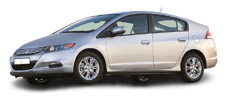 Was kostet ein Kleinwagen im Monat? Ein Honda Insight ist sehr sparsam und kostet unter 200 €