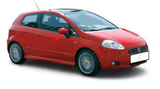 Was kostet ein Kleinwagen im Monat? Ein Fiat Grande Punto mit LPG ist sehr günstig im Unterhalt